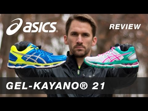 Running Shoe Review: Asics Gel-Kayano 21