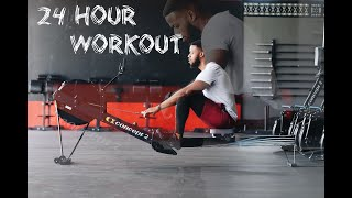 24 WORKOUTS IN 24 HOURS   This is why i worked out for 24 hours