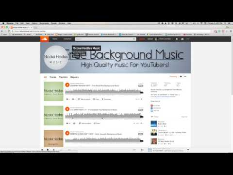 Searching for Creative Commons Music on SoundCloud