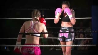 Julie Kitchen vs Aleide Lawant Mauy Thai World Title Defence