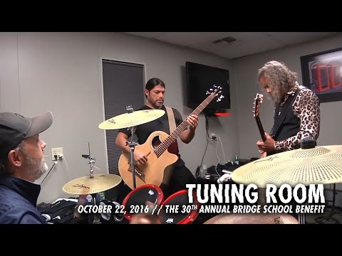 Metallica: Tuning Room (MetOnTour - Bridge School Benefit - 2016) Thumbnail image