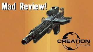 Fallout 4 Prototype Gauss Rifle Creation Club mod review!