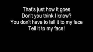 To my Face - Tribal Ink (Lyrics)