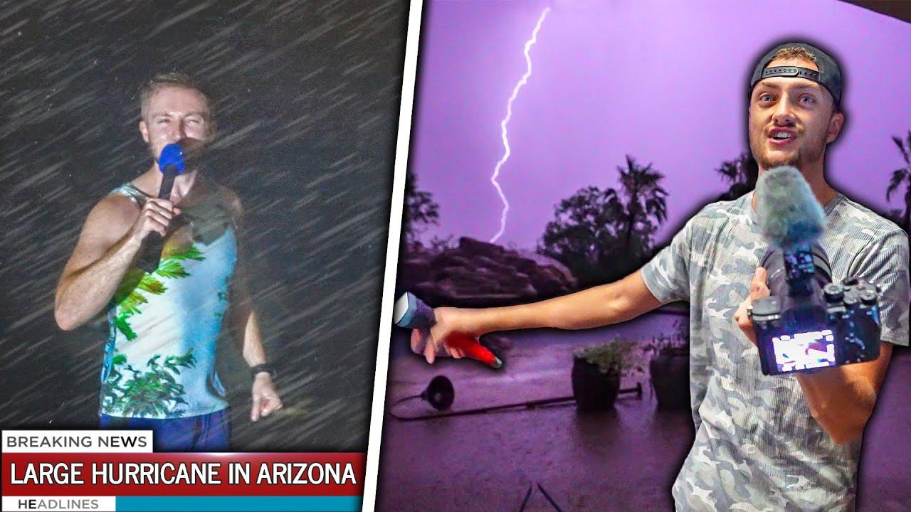 Download Surviving Arizona's LARGEST Hurricane! - (EXTREME WEATHER)