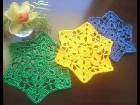 How To Crochet Easy Hot Pad Free Pattern Youtube