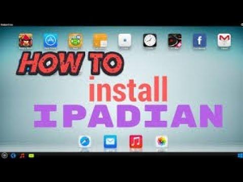 Cách tải và cài đặt IPADIAN 10.1  (Phần mềm giả lập ios trên pc).