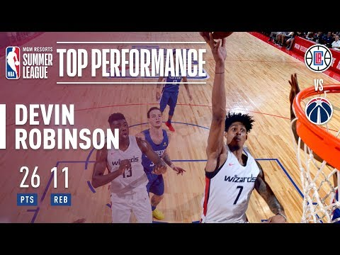 Devin Robinson Puts Up 26pts & 11asts In 2018 MGM Resorts Summer League Action