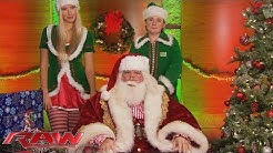 A special message from Jolly Ol' Saint Nick: Raw, December 21, 2015