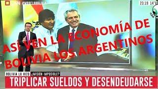 ASÍ VEN LA ECONOMÍA DE BOLIVIA LOS ARGENTINOS - Entrevista a Álvaro García Linera Vicepresidente