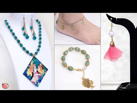 10 Creatieve DIY Jewelry Making Ideas !!!
