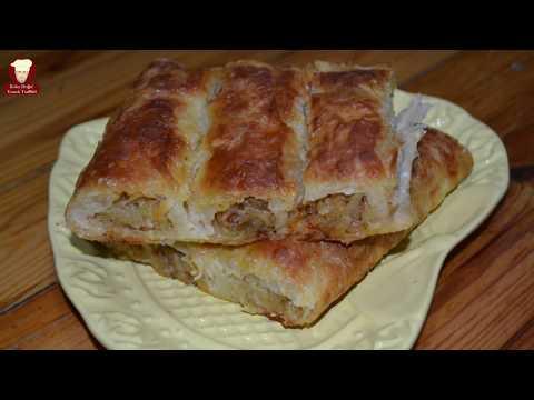BAKLAVALIK YUFKADAN SÜPER BİR PATATESLİ BÖREK TARİFİ (Phyllo Dough Potato Pie)