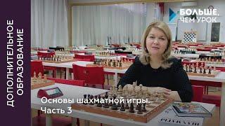 Основы шахматной игры. Часть 3