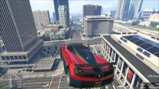 GTA 5 Online Course Custom WTF Big Air !