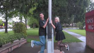 "The Flag Pole -- North Eugene High School ""Poker Face"" Parody"