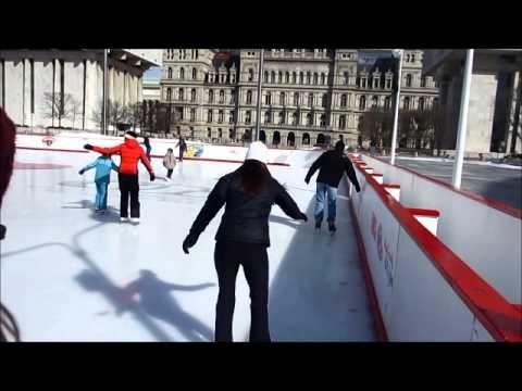 Empire State Plaza Skating