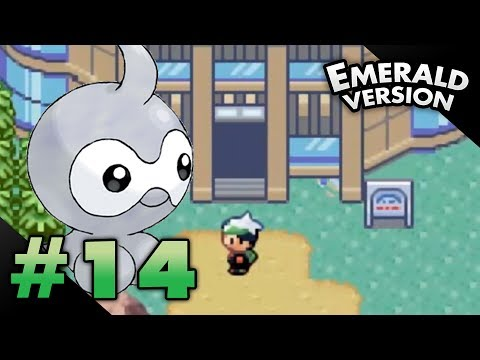 Let's Play Pokemon: Emerald - Part 14 - Weather Institute