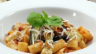 Rigatoni alla Norma  - Rossella Rago -  Cooking with Nonna
