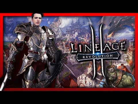 MASSIVE OPEN-WORLD MMO! THIS GAME IS FREAKING AWESOME!! Lineage 2: Revolution using Bluestacks!
