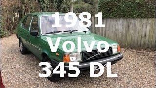 1981 Volvo 345 -  walkaround tour (Volvo 340)