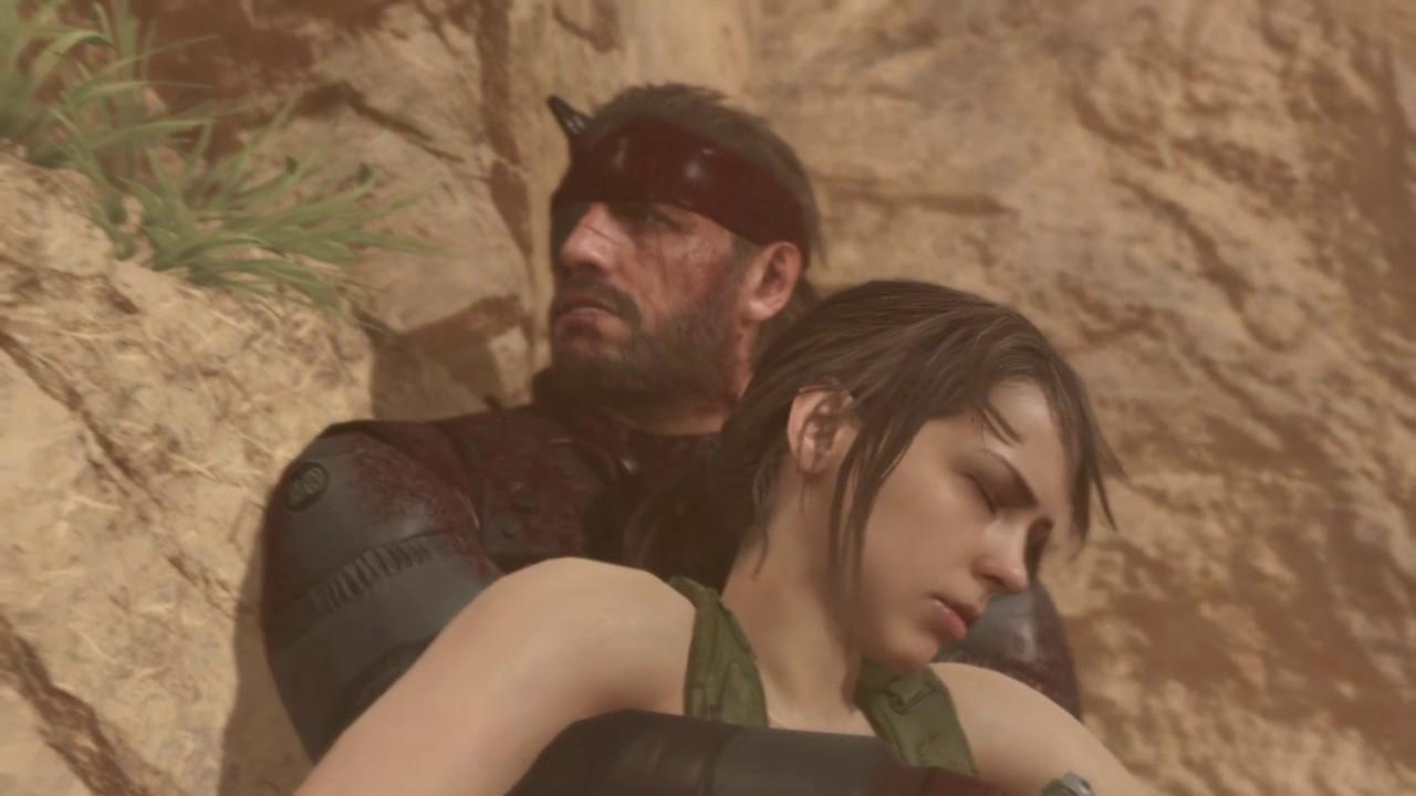 Metal Gear Solid V The Phantom Pain Quiet Saves Big Boss