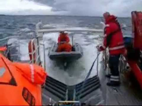 SAR-vessel in heavy weather