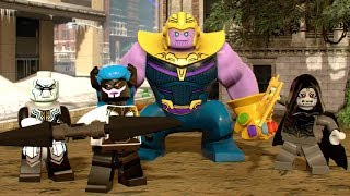 Thanos + All Black Order Characters - Avengers: Infinity War Movie DLC - LEGO Marvel Super Heroes 2