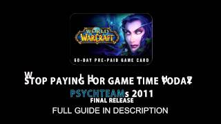 FREE WOW GAMETIME WORKING (APRIL 2011)