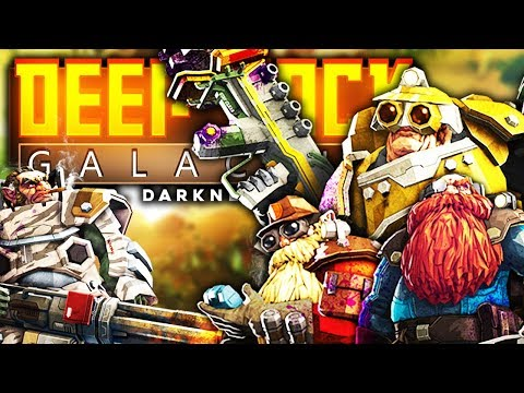 Deep Rock Galactic - SPACE DWARVES MINING GOLD AND STUFF - Deep Rock Galactic Gameplay