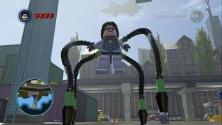 LEGO Marvel Super Heroes - Doctor Octopus (Ultimate) Free Roam Gameplay