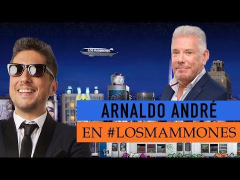 """Arnaldo André con Jey: """"Besaba en las novelas igual que en la vida"""" - Los Mammones"""