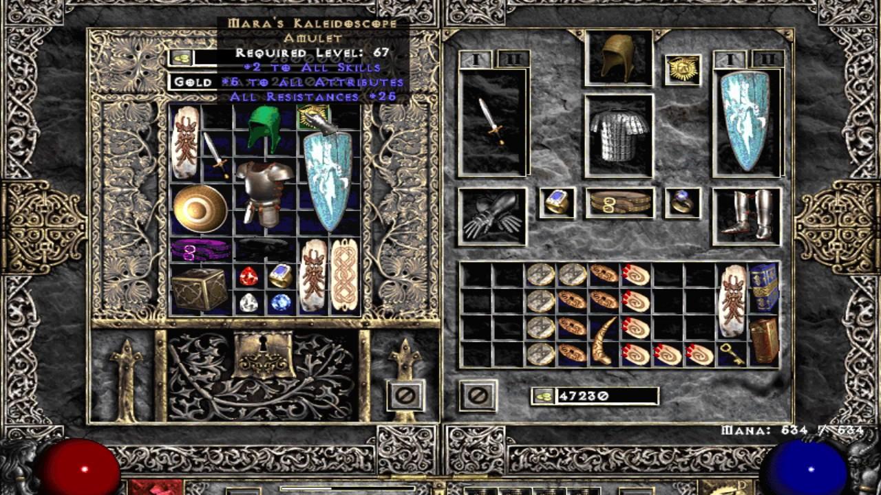 Diablo 2 single player: budget hammerdin hybrid build youtube.