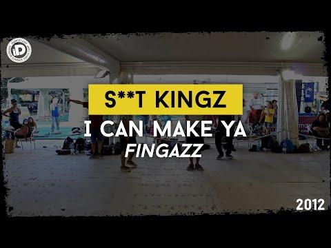 "S**t Kingz ""I can make ya - Fingazz"" - iDanceCamp 2012 - Bounce Factory"