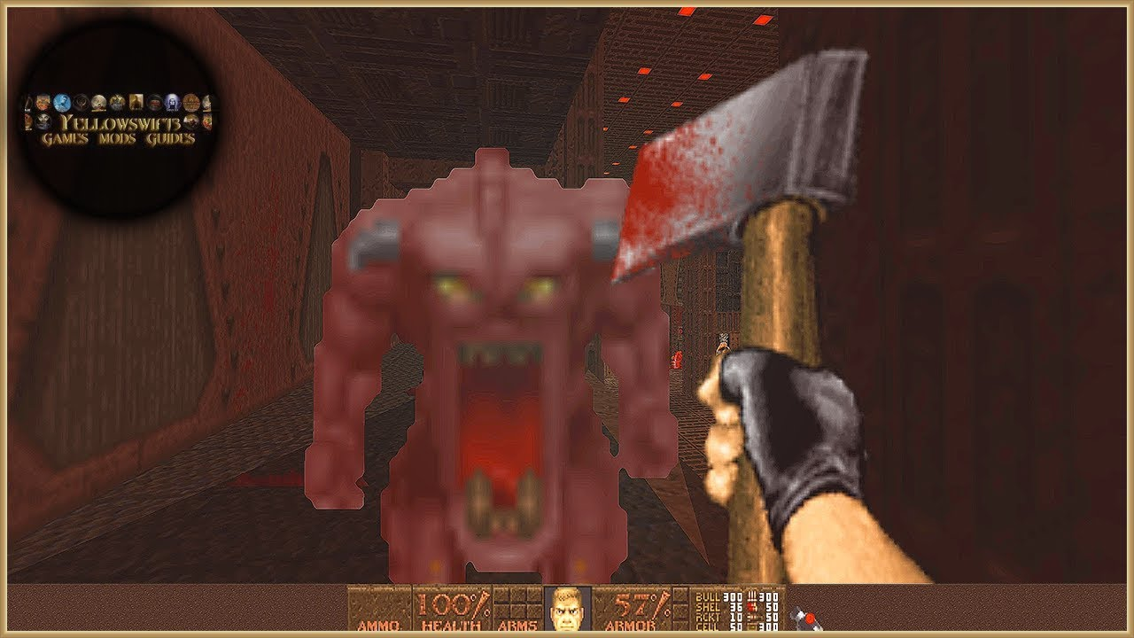 (Doom/Quake?) Dimension of the BOOMED + Brutal Doom v21 RC3 Beta Nov '18