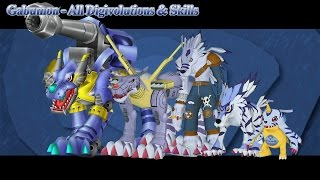 Digimon Masters Online: Gabumon - All Digivolutions & Skills