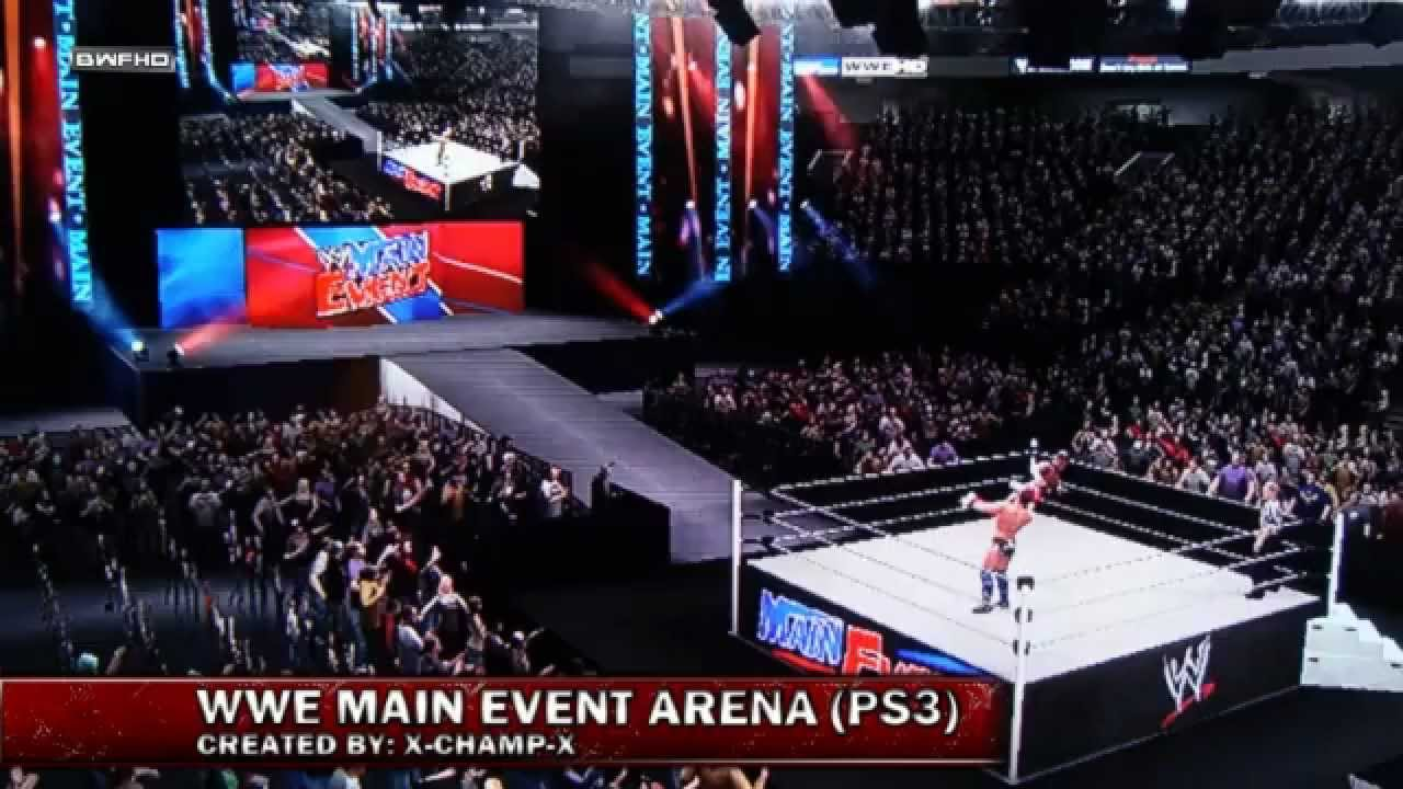 Wwe 13 Main Event Arena 12 Ps3 Youtube