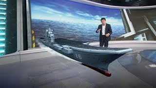 Meet China's first-ever aircraft carrier, the Liaoning