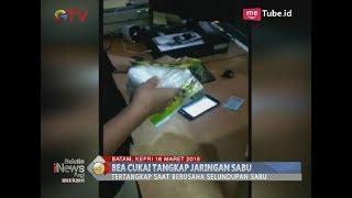 Tim Bea Cukai Bandara Batam Berhasil Gagalkan Penyelundupan 5,6 Kg Sabu - BIP 17/03