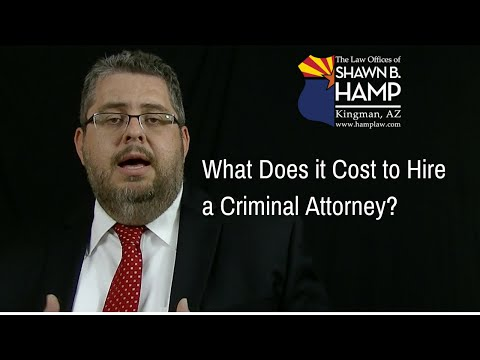 What Does it Cost to Hire an Attorney?