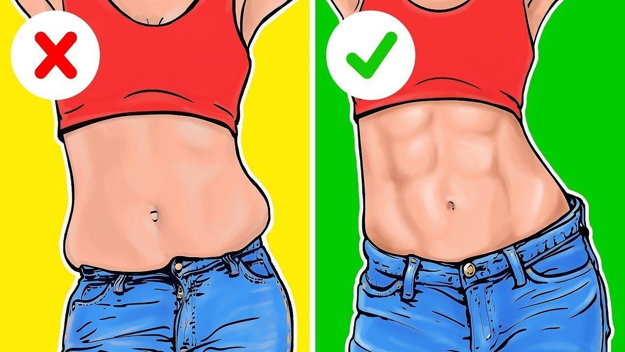 ejercicios para hacer abdomen plano