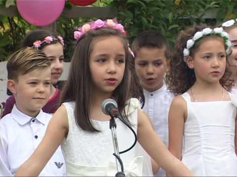 Festa e 1 Qershorit Shkolla Urani Rumbo  Gjirokaster Qershor 2016-pjesa 1
