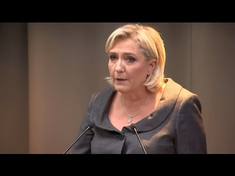 Trump win inspires French far-right leader Marine Le Pen