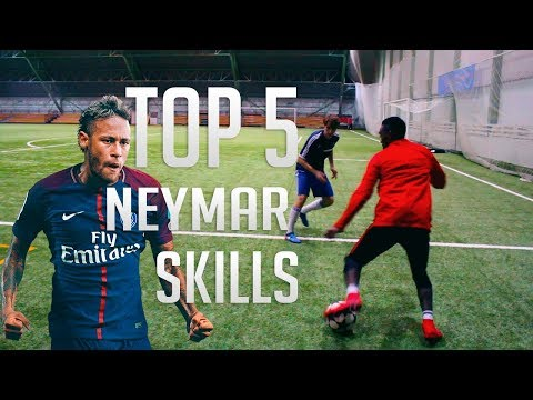 TOP 5 Neymar Skill Moves  Football Skills