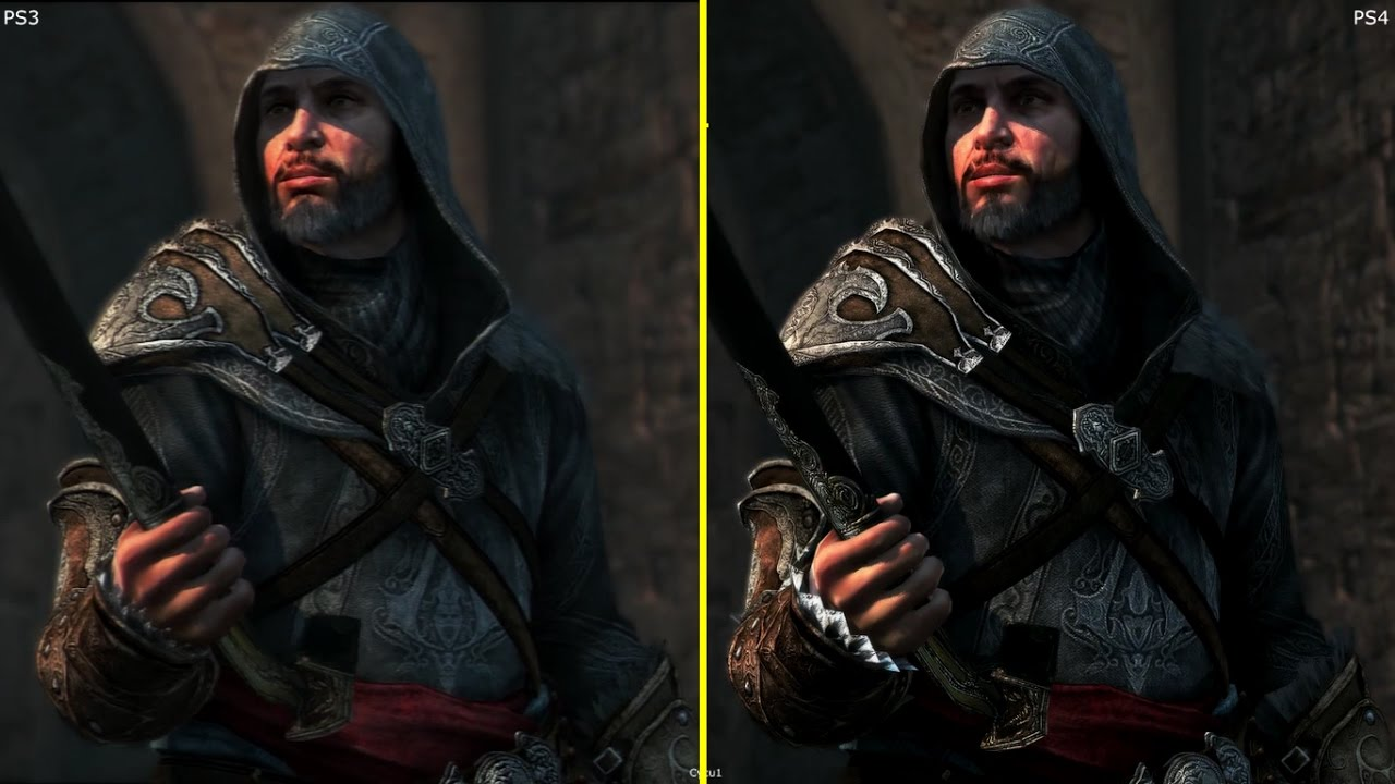 Assassin S Creed Revelations Ps3 Vs Ps4 The Ezio Collection