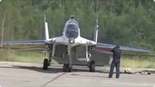 Жена подарила мужу полет на истребителе миг-29..
