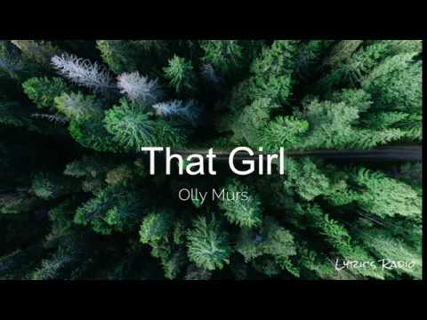 Olly Murs – That Girl (Lyrics/Lyric Video)