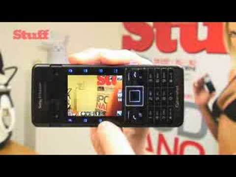 Sony Ericsson C902 video review - from stuff.tv