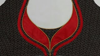 Blouse Back Neck Design Cutting And Stitching ( DIY )