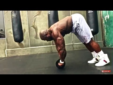 Kali Muscle: EXTREME ABS WORKOUT (WHEEL OF PAIN) | Kali Musc