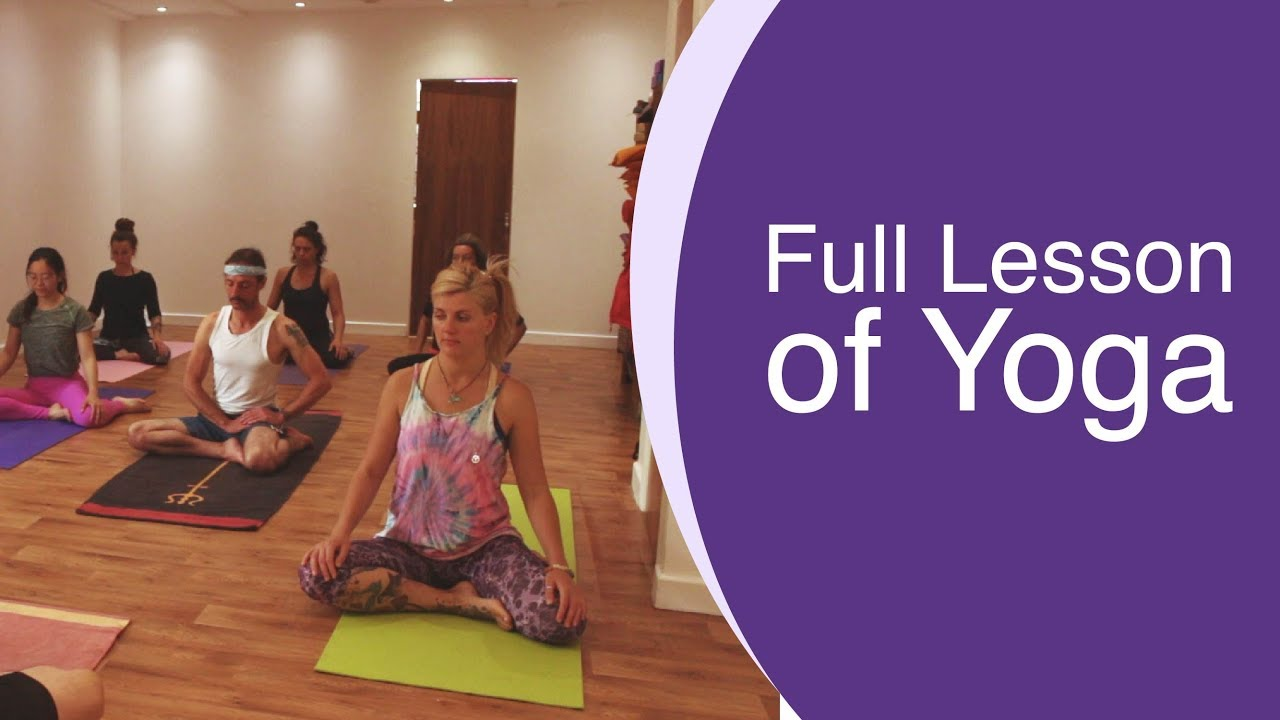 Full Hour of Yoga Class with Martin | YOGA DHARMA
