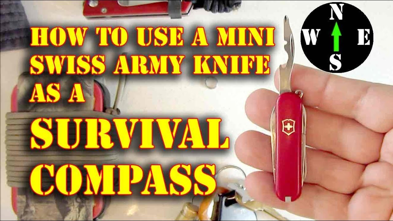 Download Use a Swiss Army Knife as a Compass